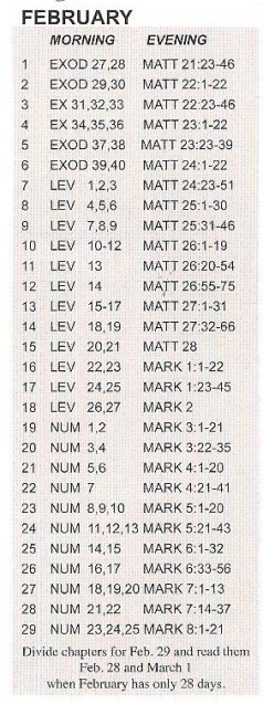 Bible feb