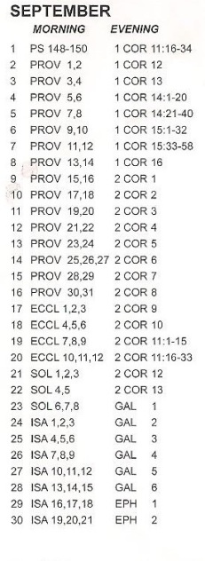 Bible sept