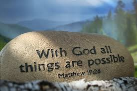 with God all is possible