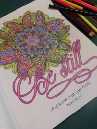 be still coloring