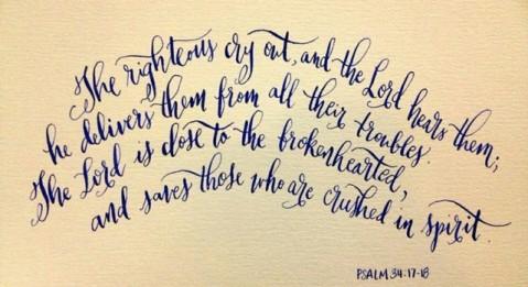 psalm 34-17-18
