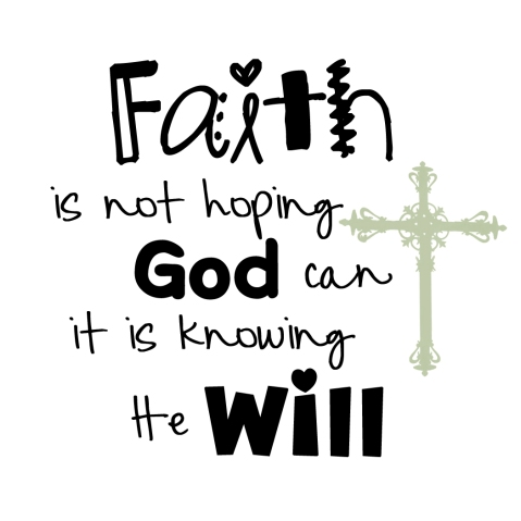 faith-is